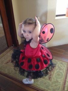 Ava Ladybug Costume