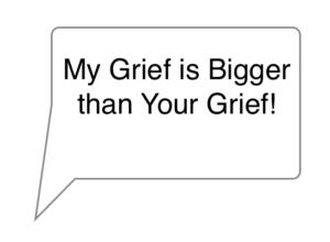compare grief